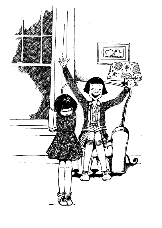 ramona and beezus coloring pages - photo#28