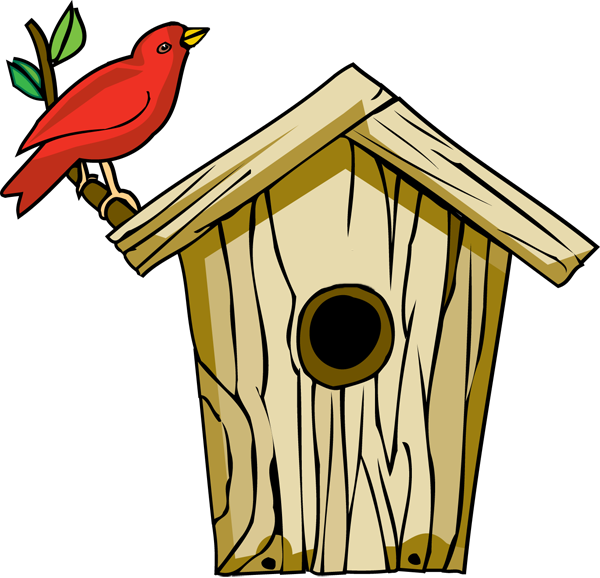 Bird House Clip Art Bird House Clip Art Bird