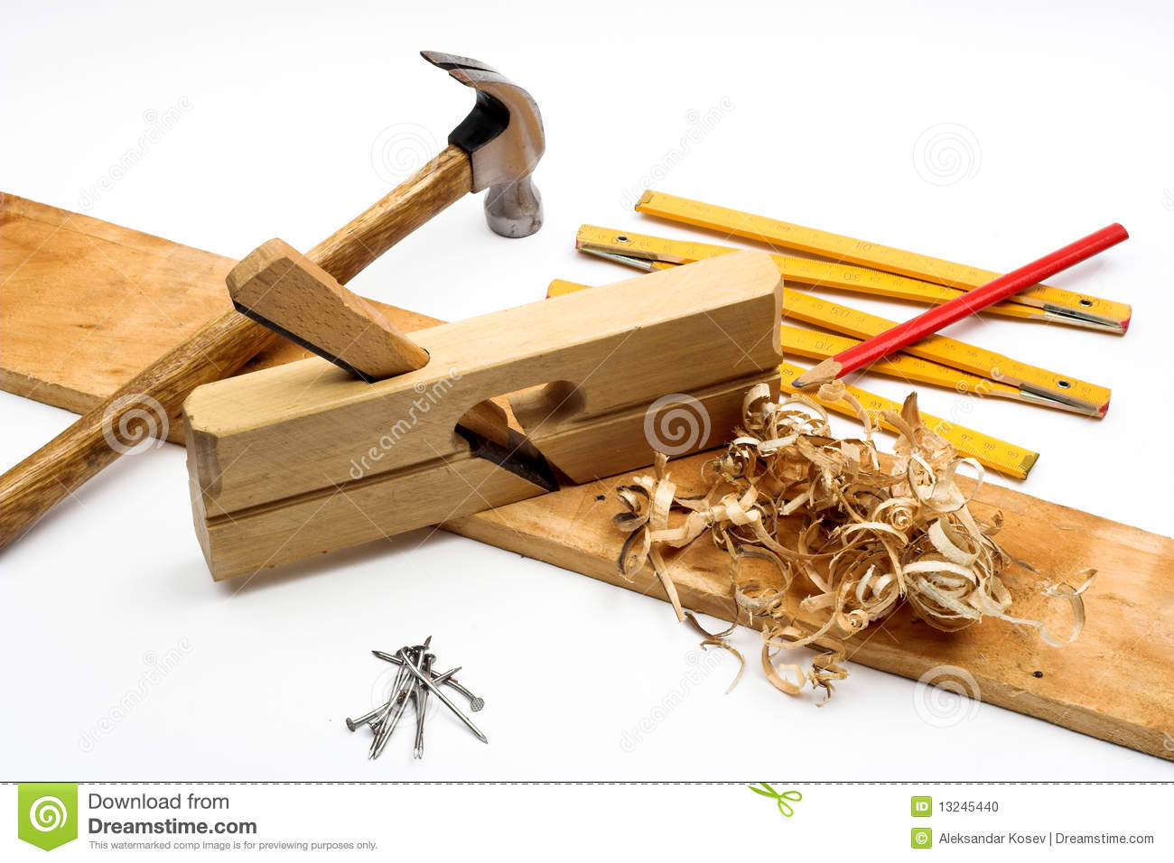 Carpenter S Tool Stock Photo   Image  13245440