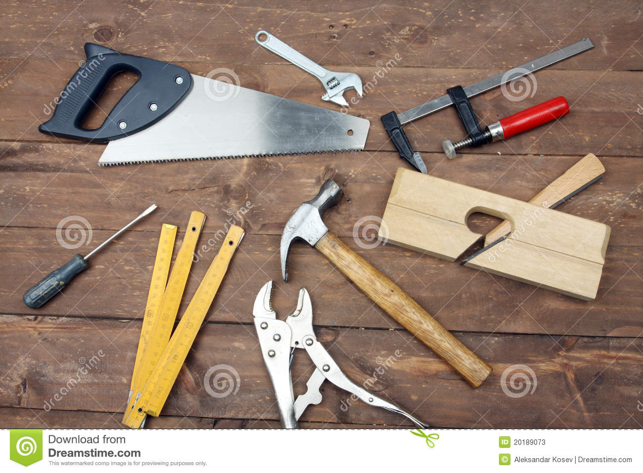 Carpenter S Tools Stock Photos   Image  20189073