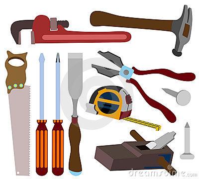 Carpenter Tools Clipart - Clipart Suggest