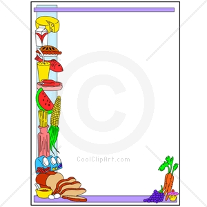 Coolclipart Com   Clip Art For  Borders Food Kitchen   Image Id 106039