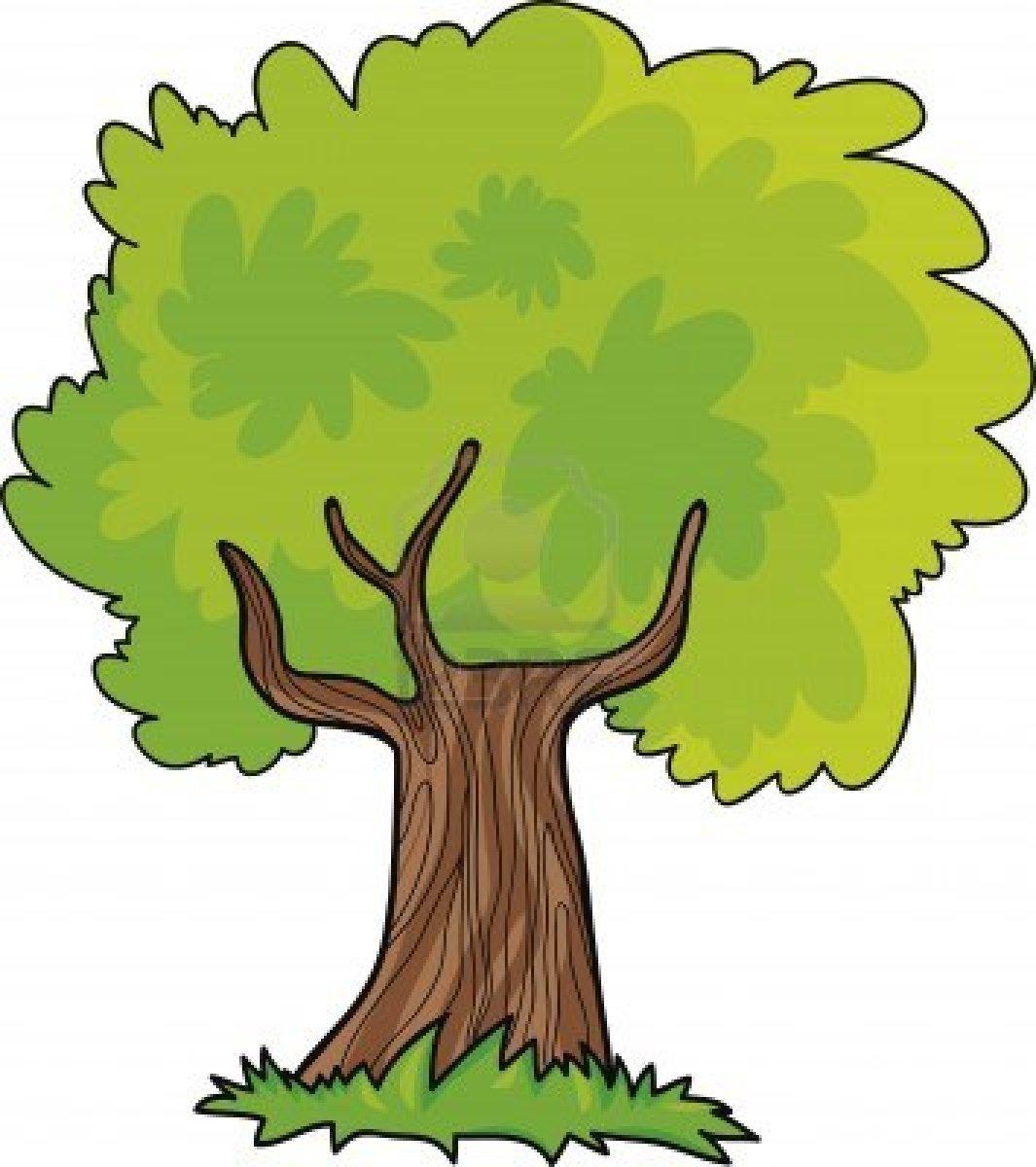Tree Cartoon Clipart - Clipart Kid