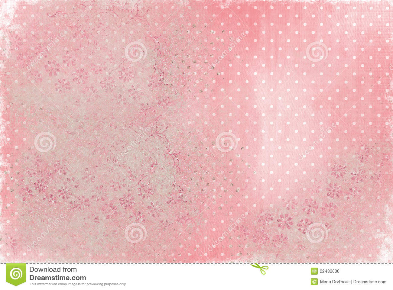 Faded Polka Dot Background Stock Photo   Image  22482600
