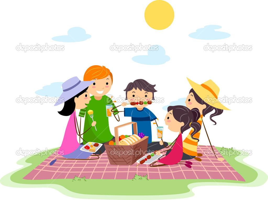 Animated Picnic Clipart - Clipart Kid