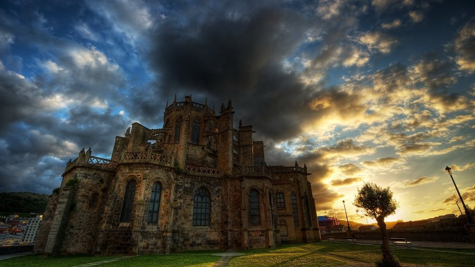 Haunted Castles Haunted Castle Hdr Wallpaper