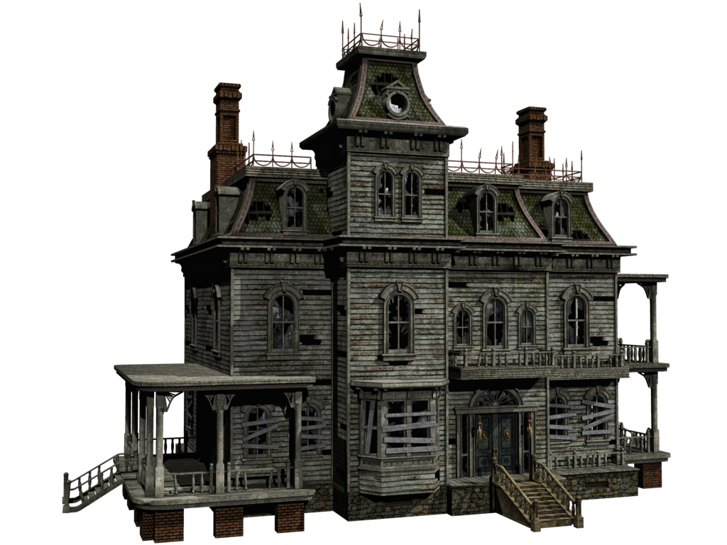 Haunted Houses Haunted House 04 Png Stock By