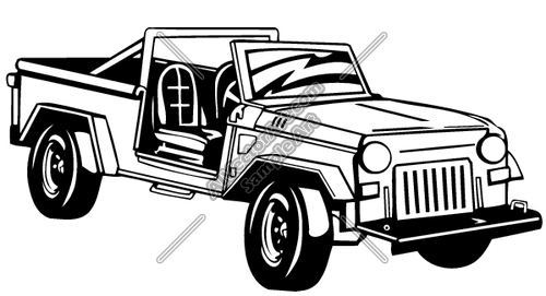 Jeep1 Clipart And Vectorart  Vehicles   Off Road Atv Vectorart And