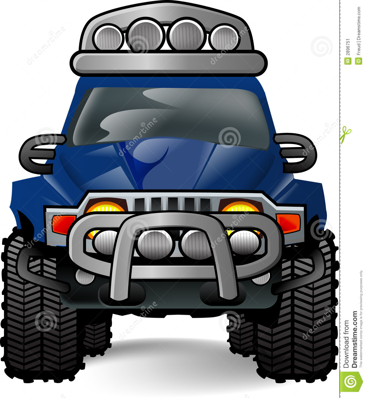 Off Road Car Stock Image   Image  2896751