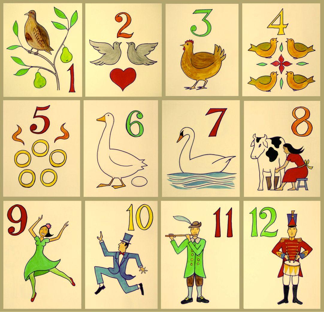 Twelve Days Of Christmas Carolers: Day 1 Christmas Clipart