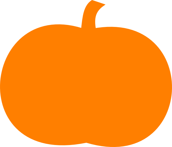 Black Pumpkin Clipart - Clipart Kid