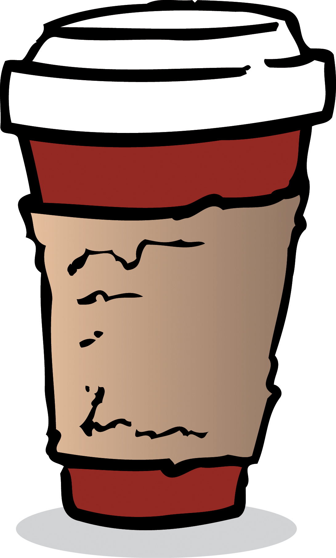 coffe paper cup clipart clipart suggest