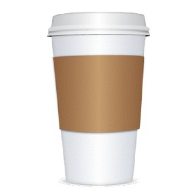 Paper Coffee Cup Clipart - Clipart Suggest