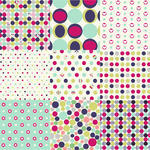 Polka Dot Hearts Around Her Seamless Patterns Polka Dot Set