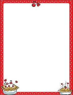 Scroll Border  Clip Art Page Border And Vector Graphics