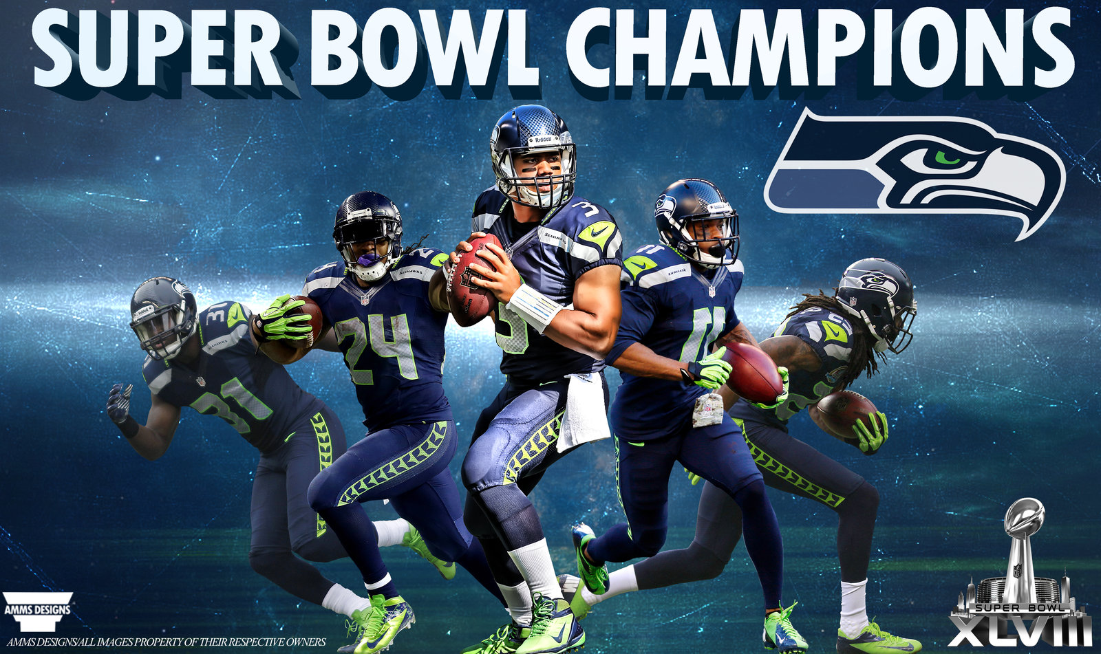 Champions Image: Seahawks Super Bowl Clipart