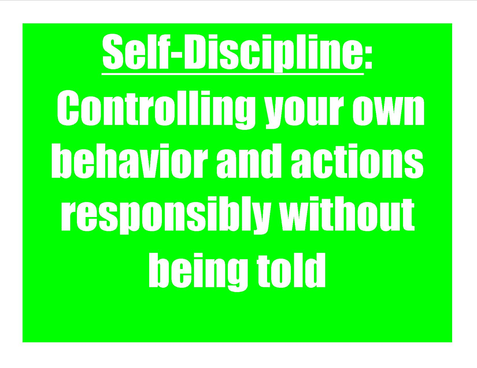 Worksheet Self Discipline Kids self discipline clipart kid my everyday psychology