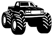 Shop Off Road   Mud Truck   4x4 Decals Stickers