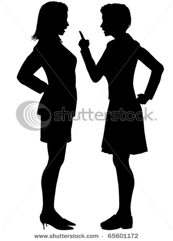 Sisters Silhouette Clip Art In This Silhouette Clipart