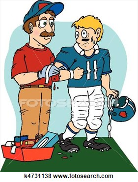 Stock Illustration   Sports Injury  Fotosearch   Search Eps Clip Art