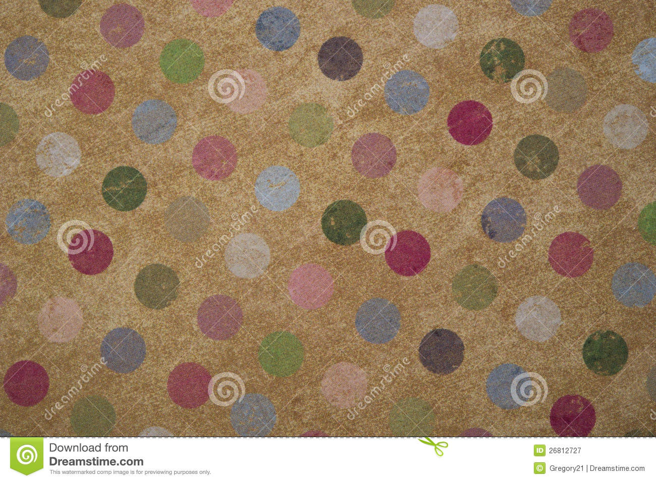 Vintage Polka Dot Background Royalty Free Stock Photography   Image