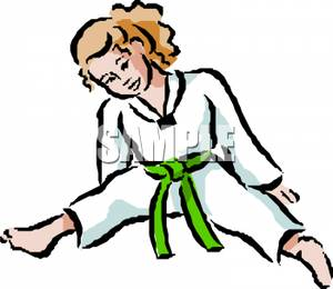 Girl Stretching Clipart - Clipart Kid