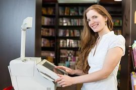 Bookstore Clerk Stock Photos And Images