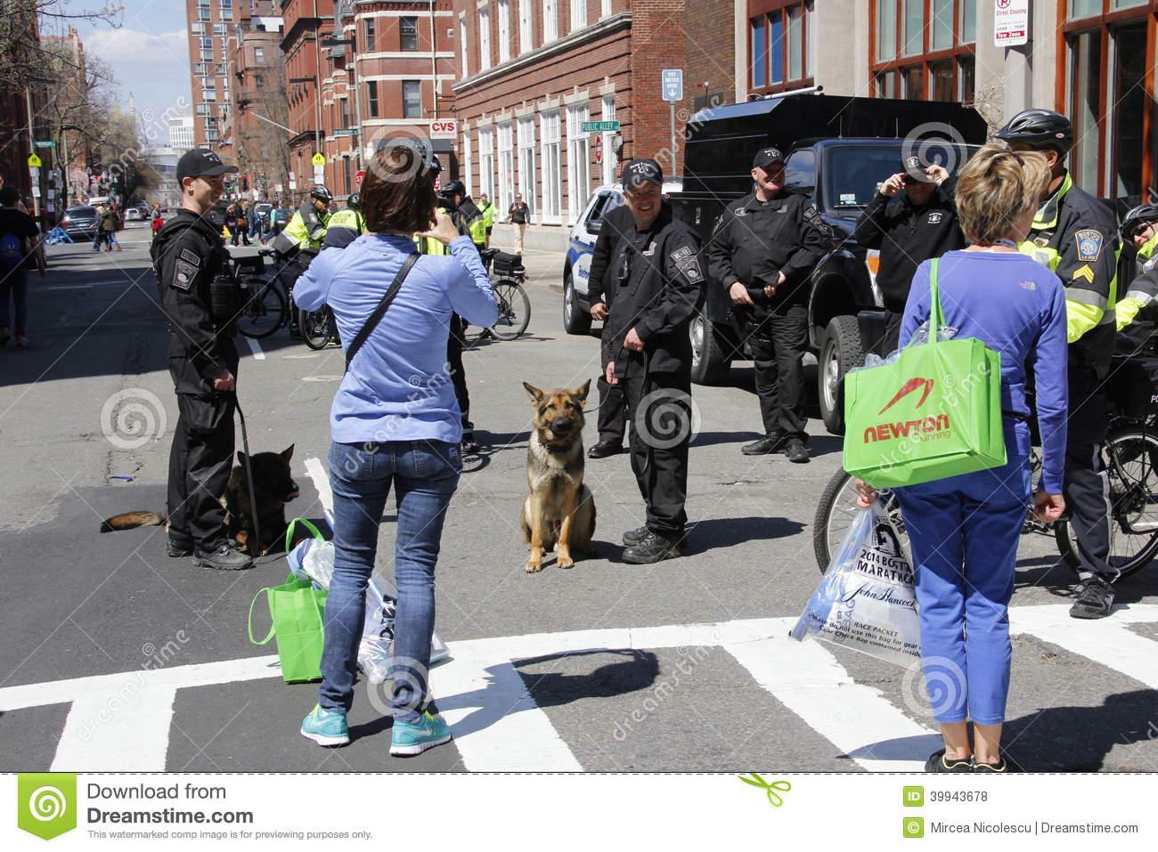 Boston Marathon 2014 Editorial Stock Photo   Image  39943678