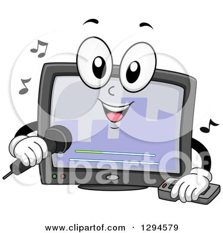 Karaoke Machine Clipart