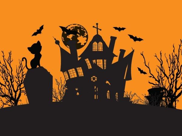halloween scene clipart - photo #10