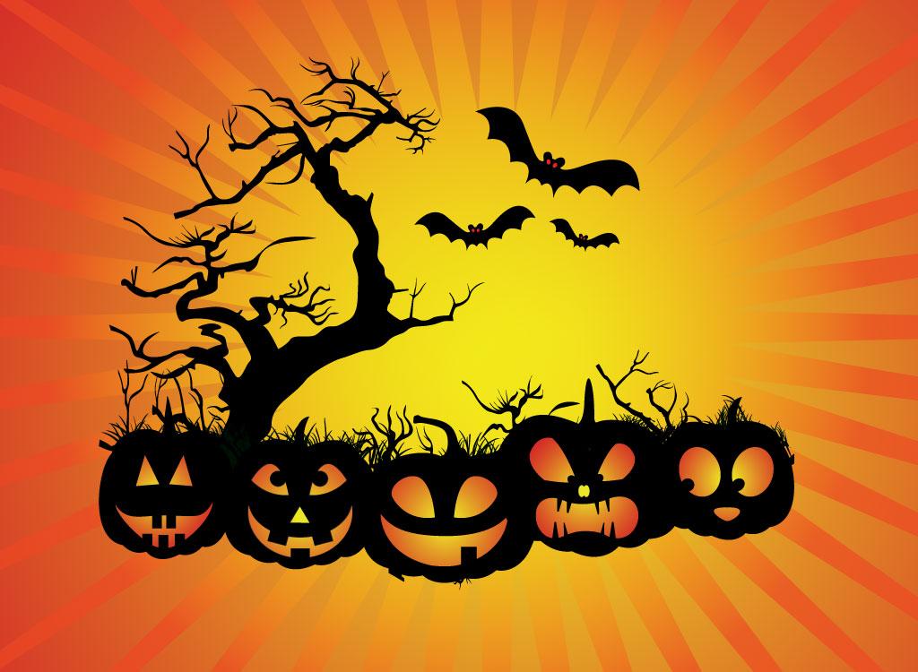halloween scene clipart - photo #13