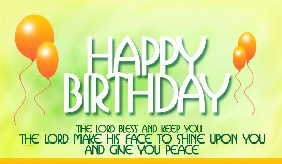 Happy Birthday Religious Pictures   Christian Happy Birthday Clip Art