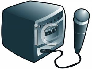 Karaoke Machine Clip Art