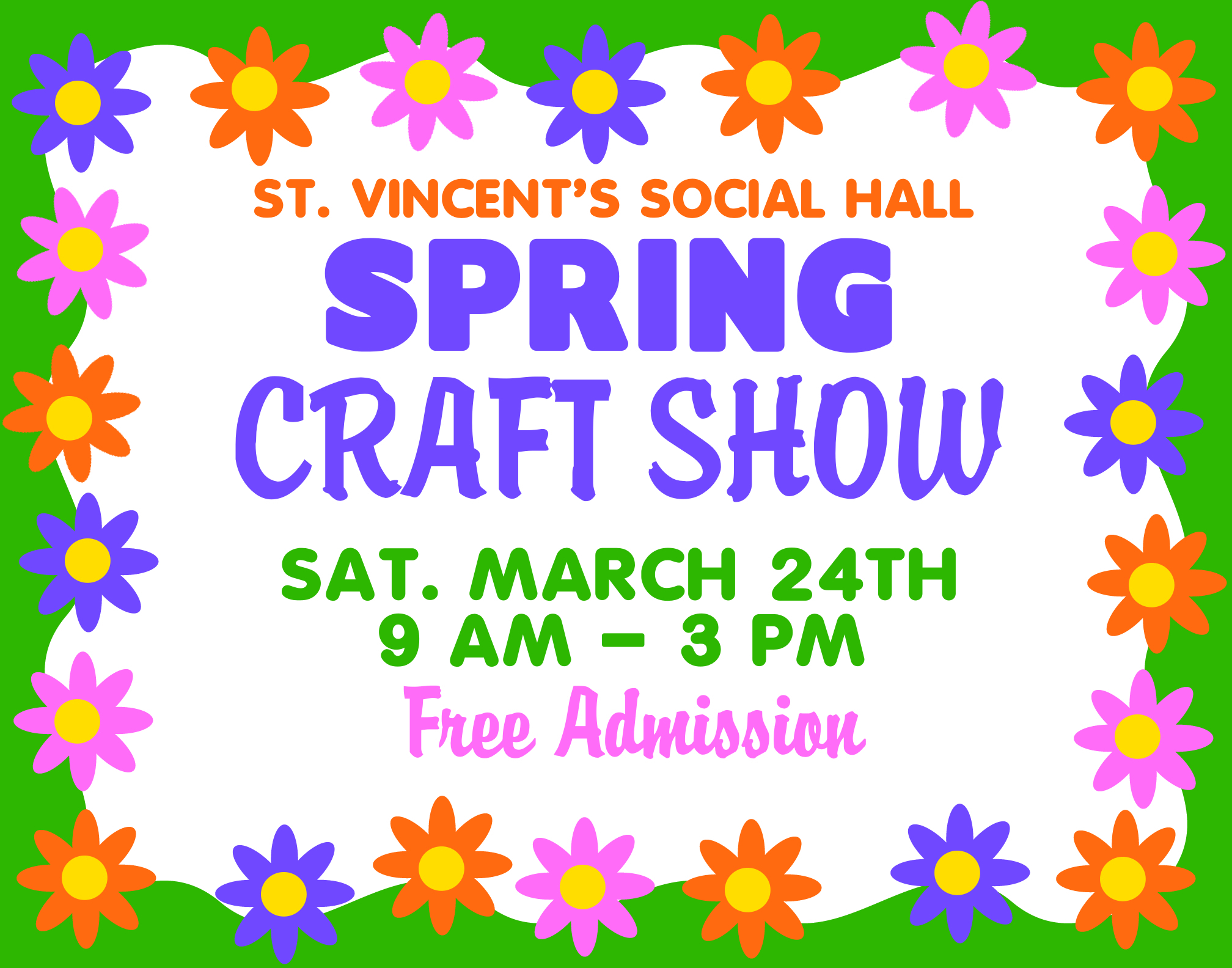 Make A Craft Show Poster Sring Event Poster Ideas G69ckw