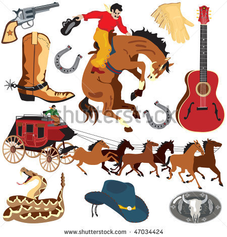 Old West Clipart   Item 2   Vector Magz   Free Download Vector
