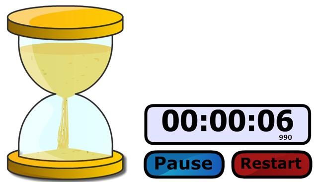 Countdown Stopwatch Clip Art