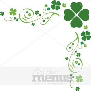 Shamrock Border Clip Art Free Images   Pictures   Becuo