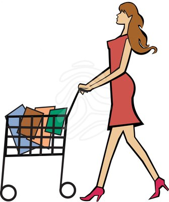 Clipart Shopping - Synkee