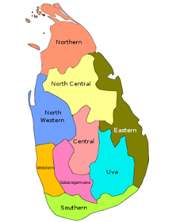Sri Lanka S Provinces
