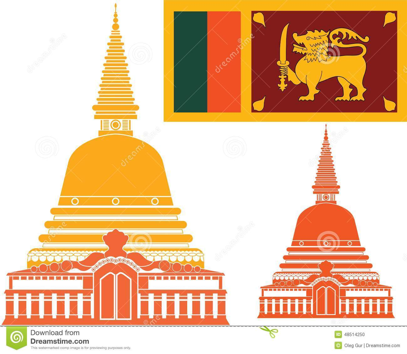 Sri Lanka Stock Vector   Image  48514250