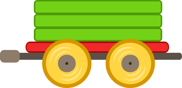 Train Car Green Clip Art At Clker Com   Vector Clip Art Online