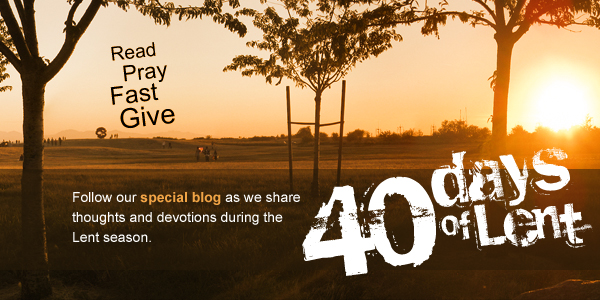 Back To 40 Days Of Lent
