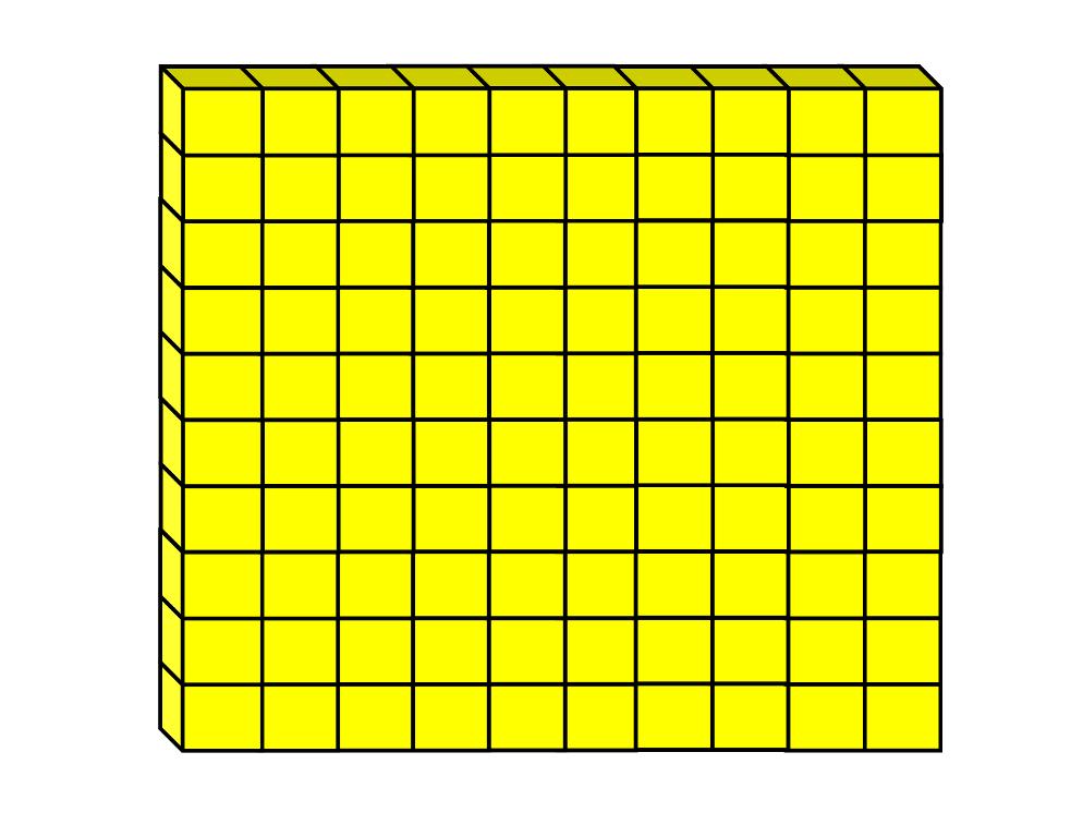 flat tens block clipart clipart suggest Thousandths Clip Art Place Value Blocks