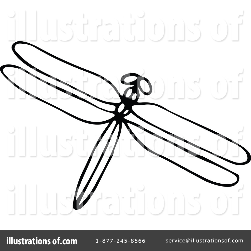 Dragonfly Clipart  1180212 By Prawny Vintage   Royalty Free  Rf  Stock