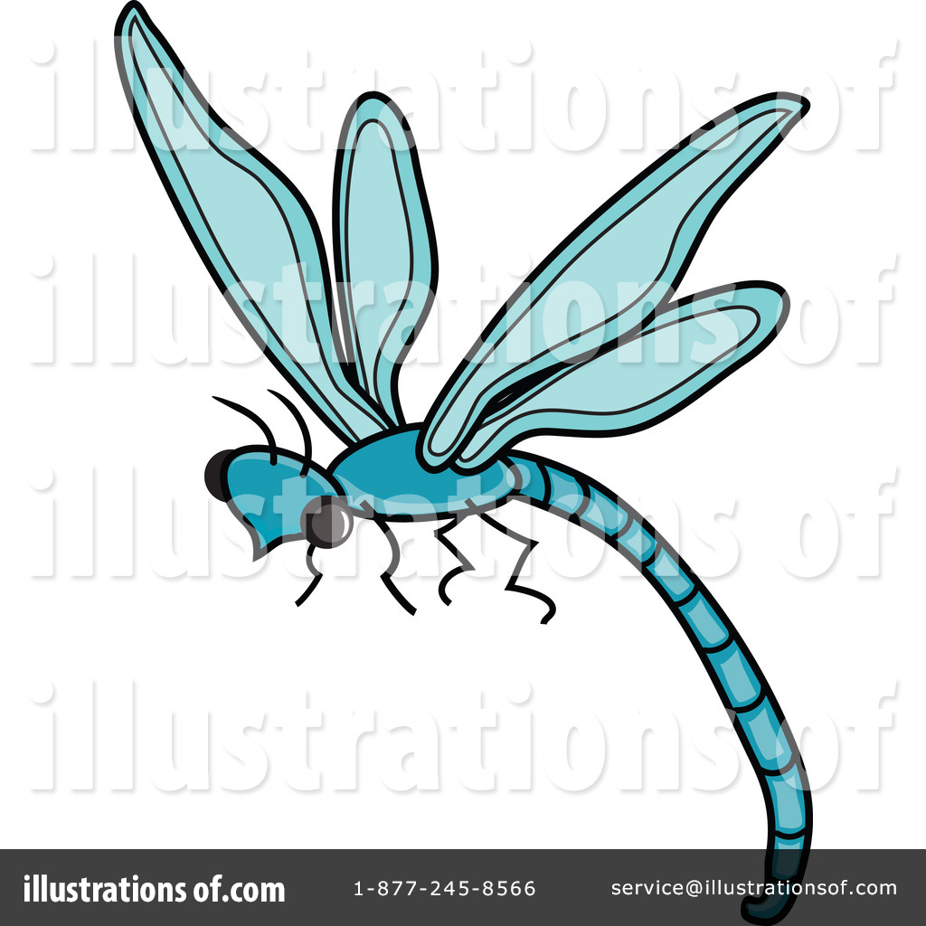 Dragonfly Clipart Illustration By Pams Clipart   Stock Sample  62518