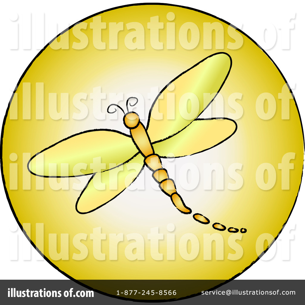 Dragonfly Clipart Illustration By Pams Clipart   Stock Sample  94272