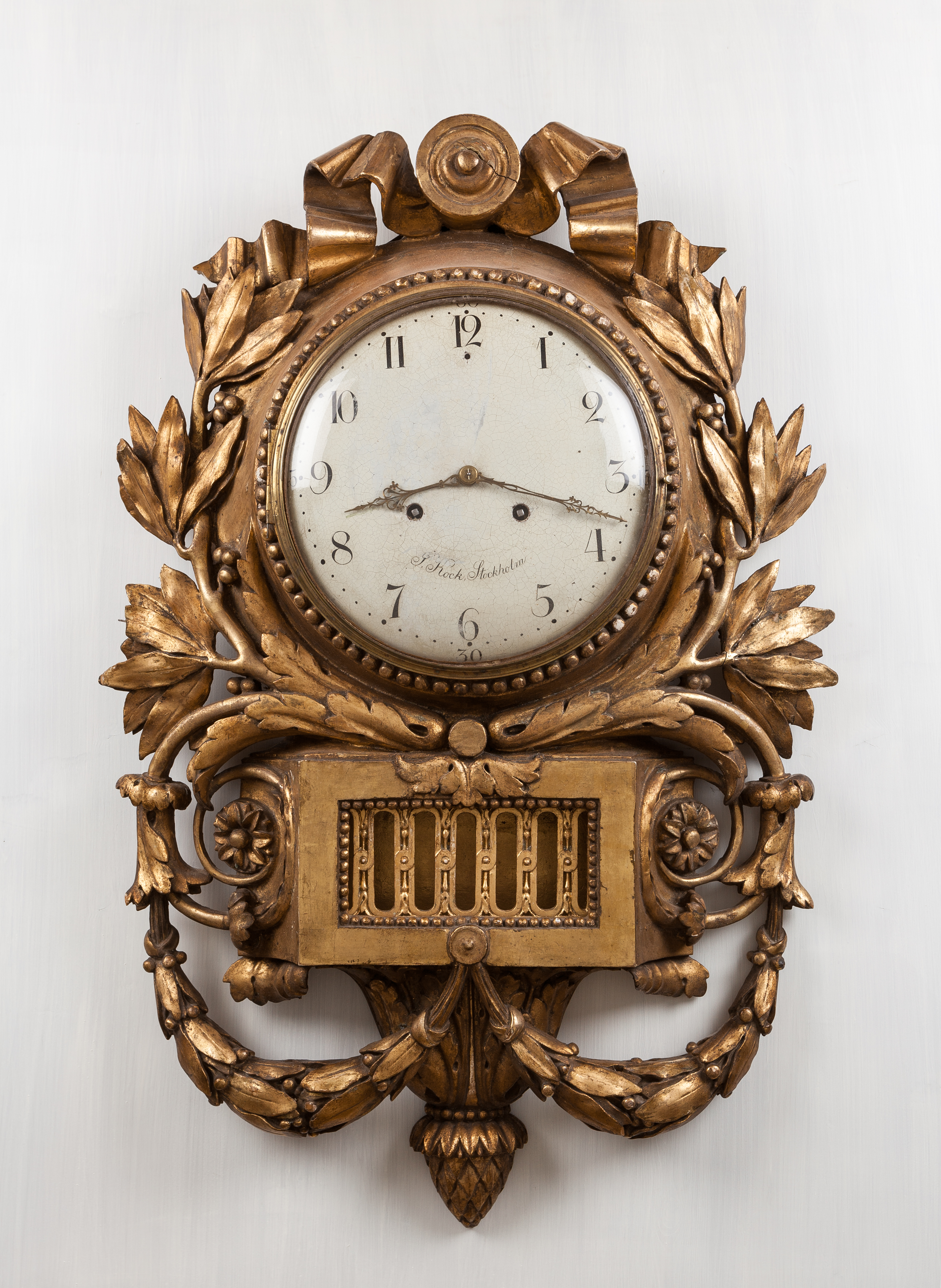 File Pendulum Clock By Jacob Kock Antique Furniture Photography Img
