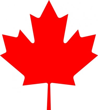 Flag Of Canada Leaf Clip Art Free Vector In Open Office Drawing Svg