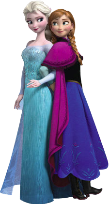 Frozen  Ana And Elsa Clip Art    Oh My Fiesta  In English