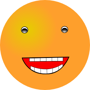 Laughing Smiley Clip Art At Clker Com   Vector Clip Art Online